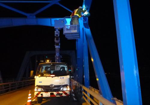 橋梁の点検
