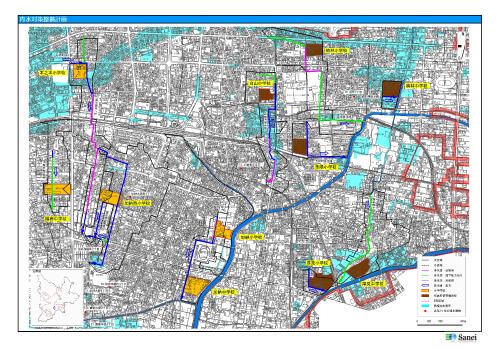 内水対策整備計画策定